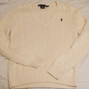 Ralph Lauren V-neck sweater.